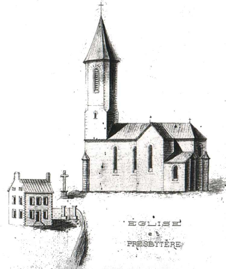 Site meljac net la paroisse - Eglise dessin ...