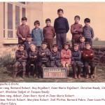 Ecole de La Treillie 1964