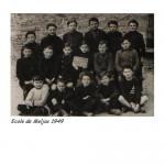 Ecole de Meljac 1949 garçons