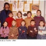 Ecole de La Treillie 1982
