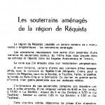 001.Les souterrains aménagés de la région de Réquista-Rev.du Rouergue_août1984