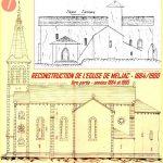 000.Reconstruction de l'église de Meljac1884-1900