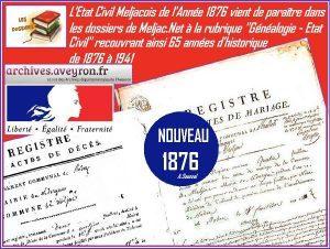 Nouvau Etat Civil 1876 - Copie