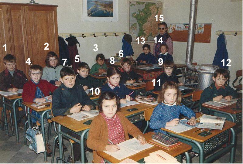 Ecole de Meljac 1969-70 CP-CE2
