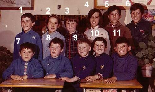 Ecole de la Treillie 1967