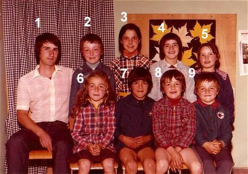 Ecole de la Treillie 1975