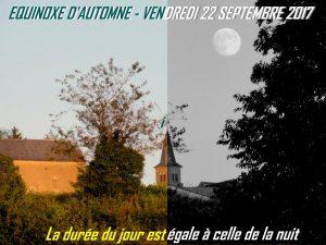 équinoxe automne 22.9.2017